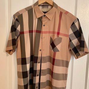 Burberry Thornaby Short-Sleeve Check Sport Shirt
